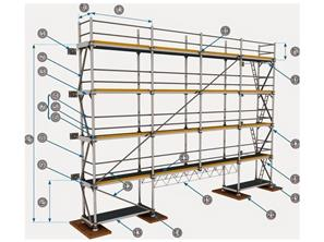 Flanged Scaffold Application